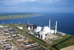 Elektrárna Avedoere v Dánsku přešla také ze spalování uhlí na biomasu (zdroj Dong Energy)