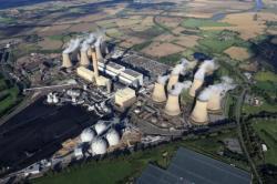 Uhelná elektrárna Drax byla předělána na spalování pelet (zdroj Drax)